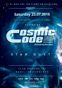 Club, Borderline, Basel, Cosmic Code, DJ