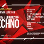 Josef Urban – Masters & Legends of Techno @ Schlaflos Aarau 08.06.2018